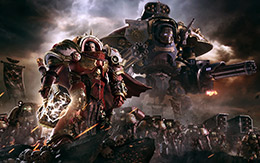 Pledge allegiance to the Space Marines in Warhammer 40,000: Dawn of War III for macOS and Linux