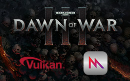 Hammer of steel and fire: Dawn of War III for macOS and Linux forged with next-generation graphics technology
