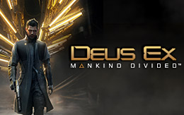 The near future arrives with Deus Ex: Mankind Divided, out now on Linux