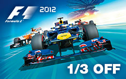 Get ready for the new FORMULA ONE™ season with 1/3 off F1 2012™ for Mac!