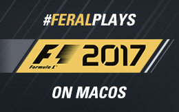 A jump start: #FeralPlays F1™ 2017 for macOS