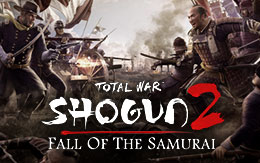 Carve a path into the future with Total War™: SHOGUN 2 – Fall of the Samurai, out now for Mac