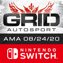 Ask us anything about GRID Autosport on /r/NintendoSwitch – 5PM BST, 24th August