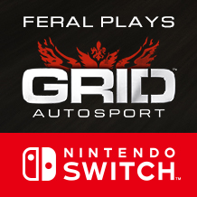 Flying start: Feral plays GRID™ Autosport on Nintendo Switch