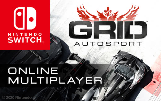 Atenção! Multijogador on-line de GRID™ Autosport chegando no Nintendo Switch