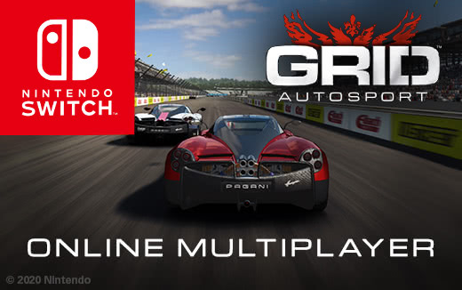 3, 2, 1… Online multiplayer released for GRID Autosport on Nintendo Switch