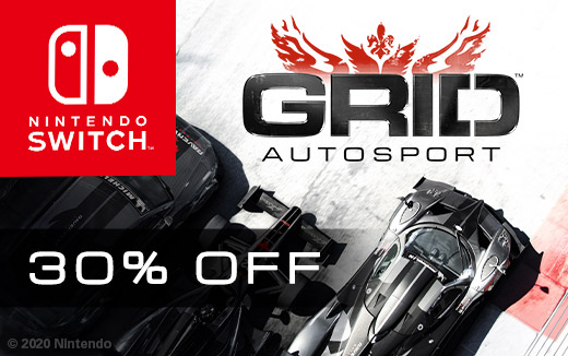 Save 30% on GRID Autosport for Nintendo Switch