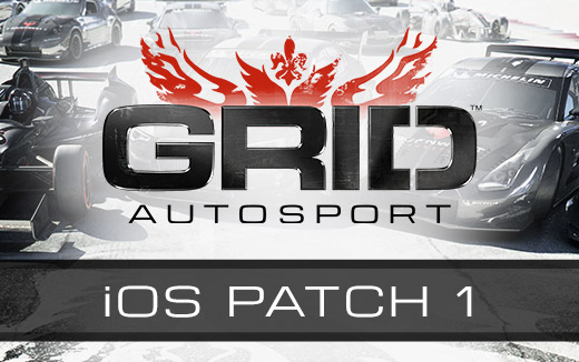 Primeiro patch de iOS do GRID Autosport lançado