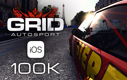 Roaring past a milestone — GRID Autosport for iOS tops 100,000 units