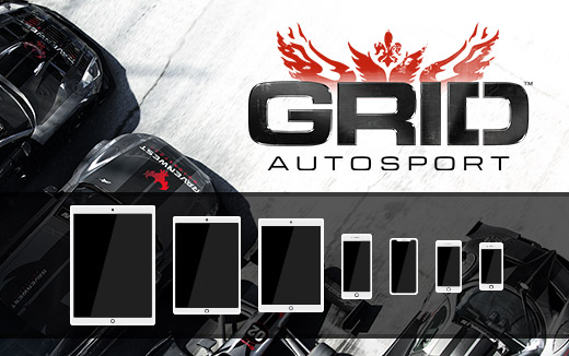 Set your controls to drive – check out the requirements for GRID Autosport on iPad and iPhone