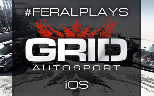 Cheetahs on the track! #FeralPlays GRID Autosport live on iOS