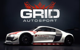 Race to the spectator stands for a GRID Autosport iOS trailer