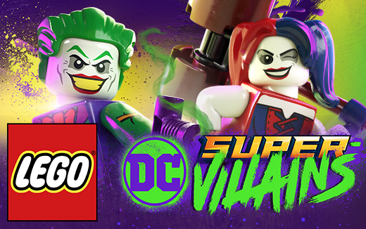 LEGO® DC Super-Villains ZAPS, BAMS and KABOOMS onto macOS July 30th