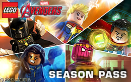 40 new characters, 5 new levels: the LEGO® Marvel's Avengers™ Season Pass!