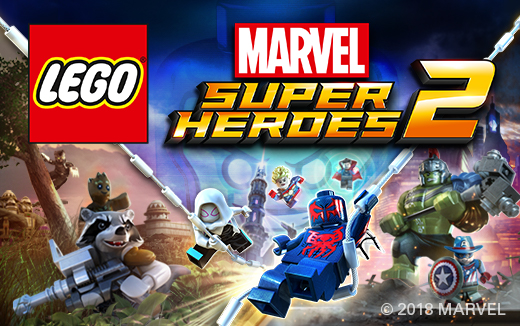 Be transported into the Marvel Universe with LEGO® Marvel Super Heroes 2, out now for macOS!