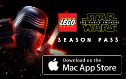 Ve más allá con el Pase de temporada de LEGO® Star Wars™: The Force Awakens, ¡ya disponible en Mac App Store!