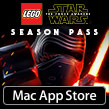 Go above and beyond with the LEGO® Star Wars™: The Force Awakens Season Pass, now available on the Mac App Store!