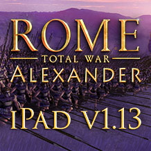 ROME: Total War - Alexander reinforced for iPad