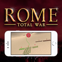 Managing the battle UI in ROME: Total War for iPhone