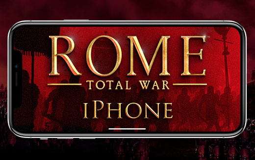 Die Antike in der Hosentasche — ROME: Total War erobert das iPhone