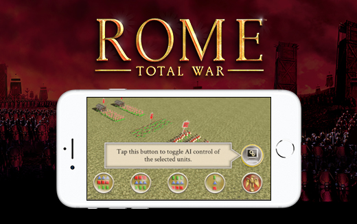 New features — ROME: Total War for iPhone; excellent advice