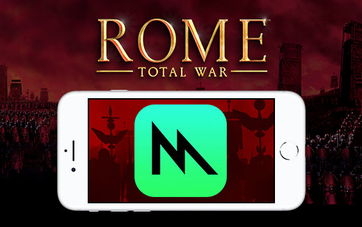 ROME: Total War for iPhone — polished Metal