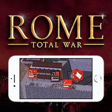 Unit battle status gives you the upper hand in ROME: Total War for iPhone