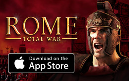 Begin your conquest for less - ROME: Total War for iPad is 20% off