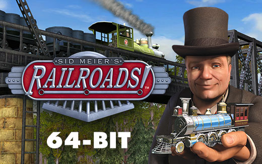 Just the ticket — Sid Meier's Railroads! for macOS updated to 64-bit