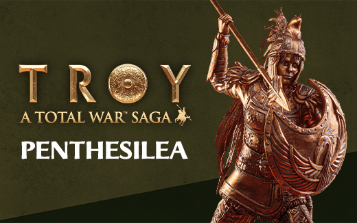 Meet the legends of TROY - Penthesilea