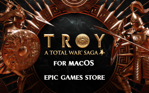 The fate of a great civilisation is in your hands... A Total War Saga: TROY out now for macOS