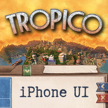 Keeping control — the user interface in Tropico for iPhone