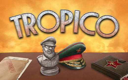 Tropico for iPad invites you to sit at your own Dictator's Desk!