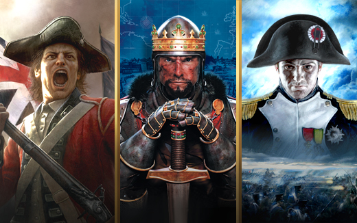 Total War: EMPIRE, NAPOLEON and MEDIEVAL II Definitive Editions released on the Feral Store