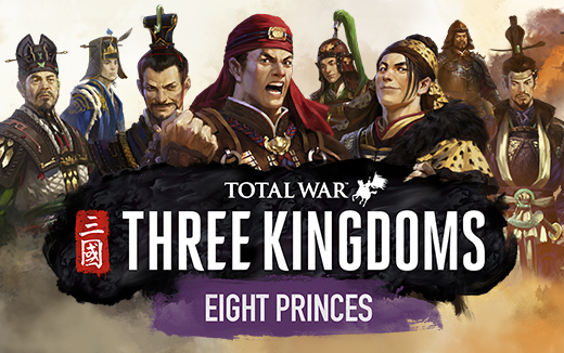Le DLC Eight Princes pour Total War: THREE KINGDOMS se lance à l'assaut de macOS et de Linux