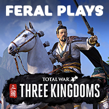 China will be shaped by its champions — Feral plays THREE KINGDOMS on macOS