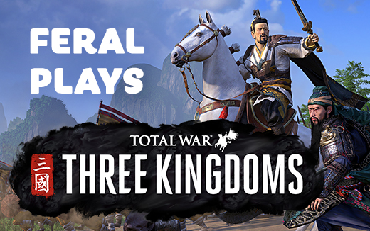 China será formada por sus campeones — Feral Plays THREE KINGDOMS en macOS