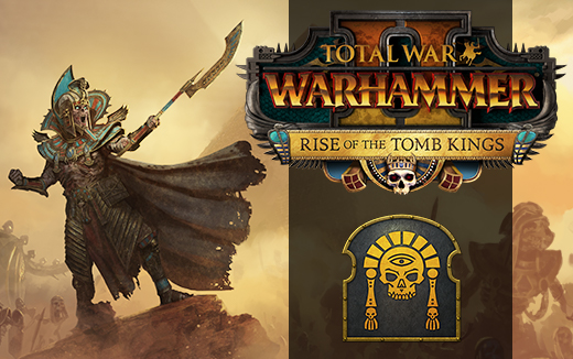 Rise of the Tomb Kings Campaign Pack DLC brings the Tomb Kings Race to WARHAMMER II.