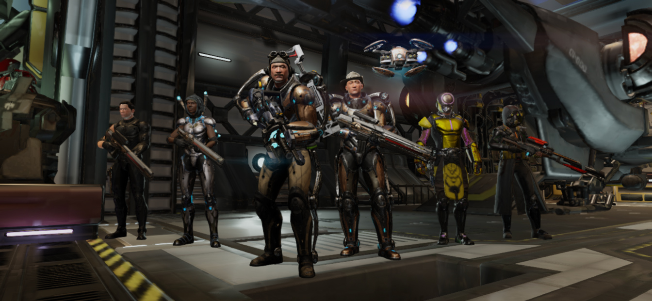 XCOM 2 Collection iOS Squad Screenshot