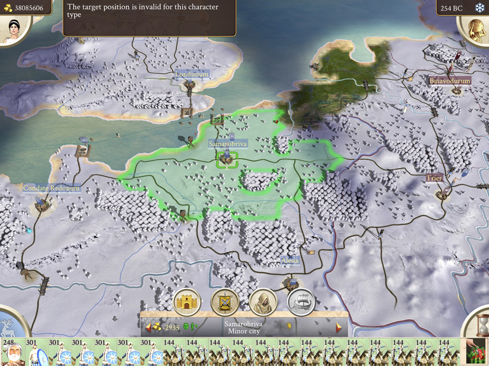 Early screenshots hint at significant redesign for rome total war map screen ipad gumiabroncs Gallery