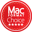 MacFormat Choice badge